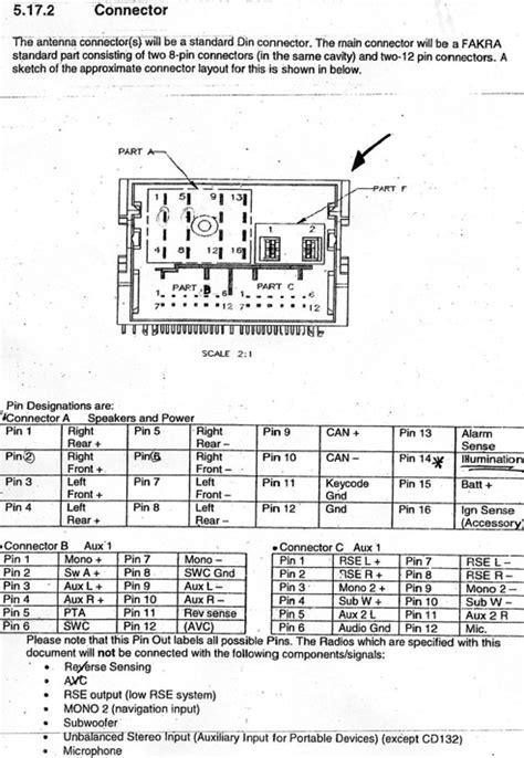 FORD Car Radio Stereo Audio Wiring Diagram Autoradio ...