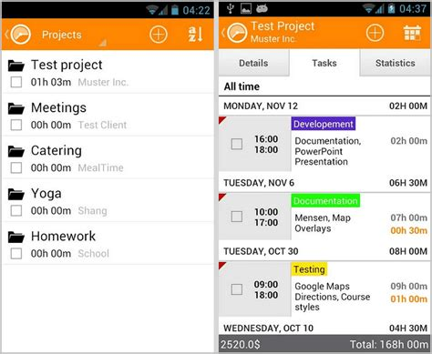 time tracking app android expense tracker android ios