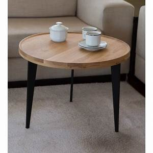 Table Basse D Appoint : table basse d 39 appoint en ch ne massif l60cm h44cm ~ Teatrodelosmanantiales.com Idées de Décoration