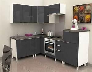 Meuble D Angle Haut Cuisine : meuble cuisine discount cuisine equipee allemande cbel cuisines ~ Teatrodelosmanantiales.com Idées de Décoration
