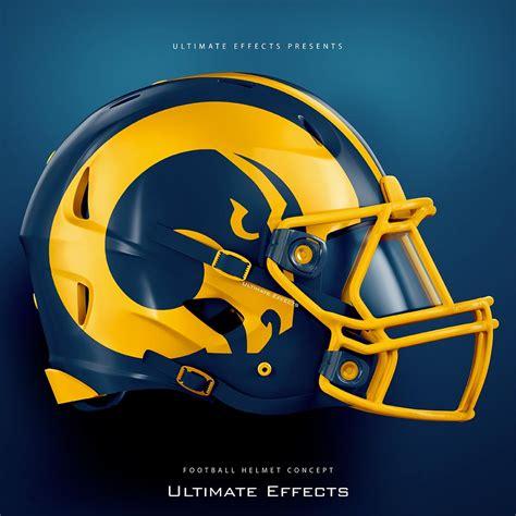 designer creates awesome concept helmets    nfl