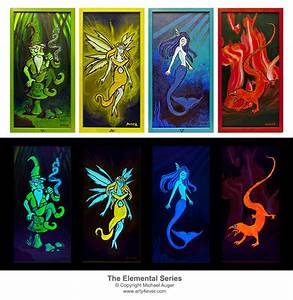 Fire Salamander (Elemental) · Offbeat Artwork · Online ...