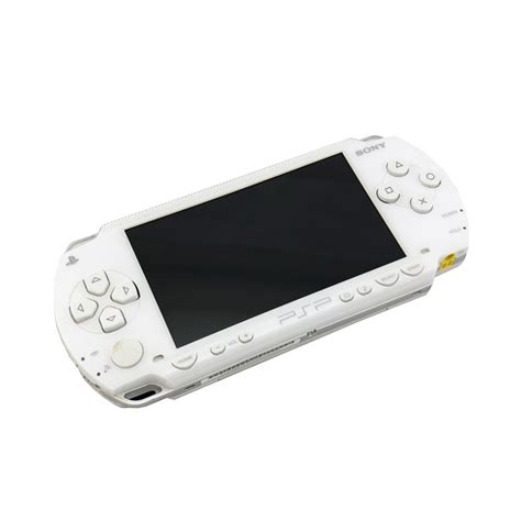 Playstation Portable Console by Playstation Portable 1000 White Console Pre Owned The