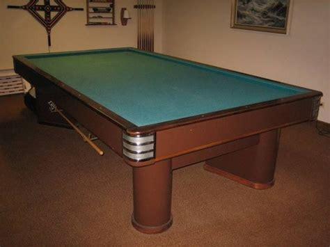 brunswick balke collender pool table antique brunswick wellington balke collender pool table
