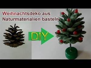 Weihnachtsbaum Deko Basteln : deko weihnachtsbaum aus tannenzapfen selbst basteln diy ~ Lizthompson.info Haus und Dekorationen