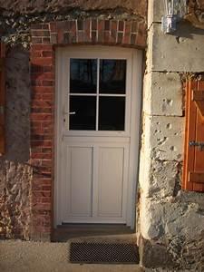 porte d39entree en pvc alu ou bois les authentiques With porte entrée pvc ou alu