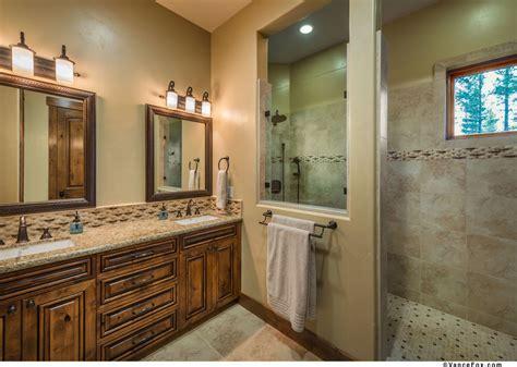 walk in shower pictures Bathroom Rustic with Alder trim