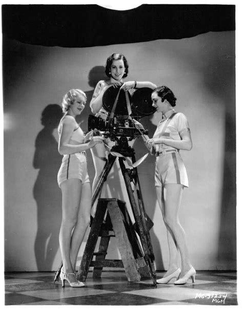 Movie Camera Porn Art Deco Vintage Hollywood