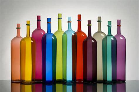 colored wine bottles error deposit a gift