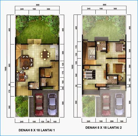 denah rumah minimalis lantai sederhana denah rumah lantai