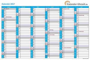 Kalender Juni 2017 Zum Ausdrucken : kalender 2017 mit feiertagen ~ Whattoseeinmadrid.com Haus und Dekorationen