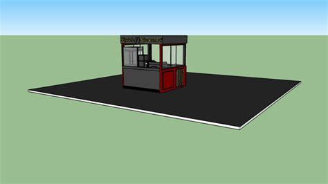 id馥s cuisine food kiosk 3d warehouse