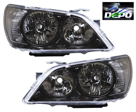 01 05 lexus is300 is 300 jdm black lights depo pair