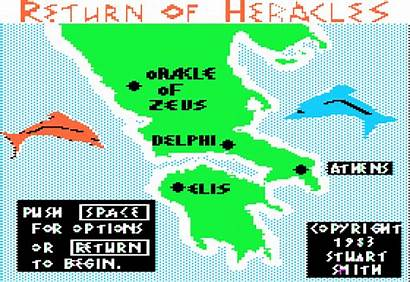 Return Heracles Stuart Smith Archive Borrow 1983