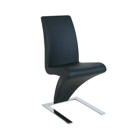 chaise noir design chaise z personnalisable lot de 2