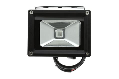 high power 10w rgb led flood light fixture with wireless