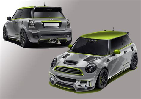 special edition personalised mini cooper  turbo jack