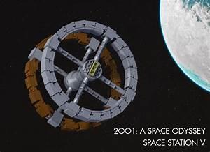 LEGO Ideas - 2001: A Space Oddessy - Space Station V