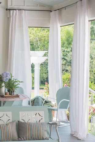 sunbrella outdoor drapes and curtains