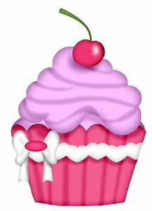 Vanilla Cupcake clipart different - Pencil and in color ...