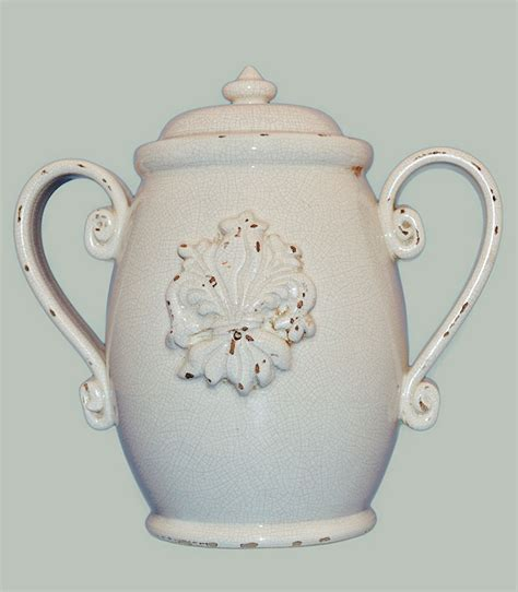 vaso in ceramica vaso con coperchio in ceramica