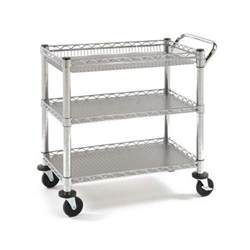 stainless steel kitchen island cart mobile heavy duty rolling utility cart tray kitchen garage