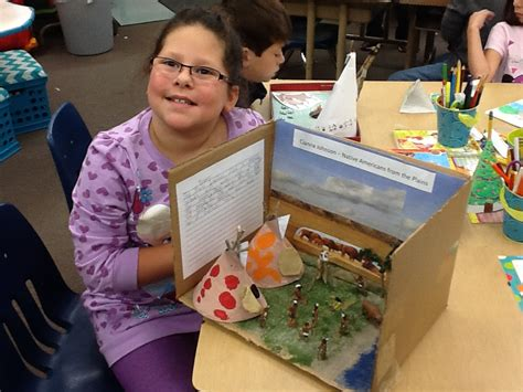 Native American Home Projects | Kenwood Elementary School