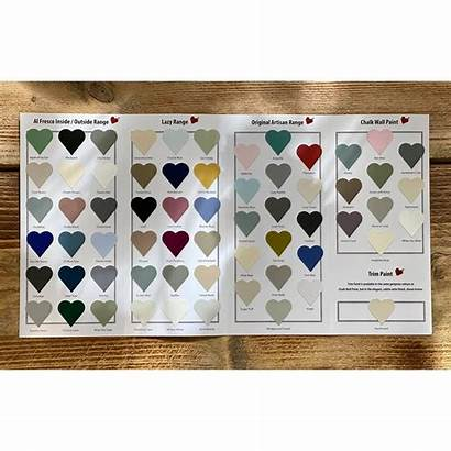 Chart Colour Frenchic Card Paint Furniture Colours