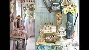 Shabby And Charme : shabby chic vintage romantic d corations et charme l 39 ancienne youtube ~ Farleysfitness.com Idées de Décoration