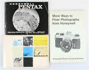 Honeywell Pentax Closeup Manual And Exposure Guide