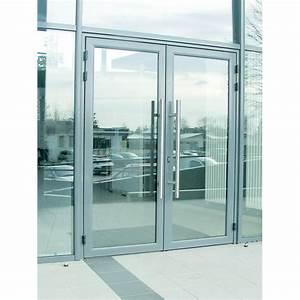 porte d39entree en aluminium pour hall d39immeuble porte With portes d entrée en aluminium