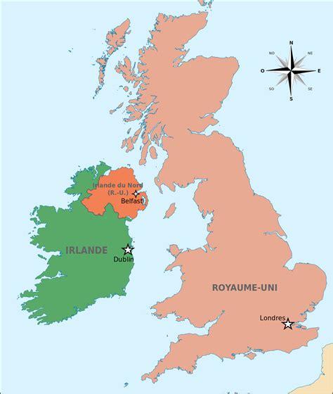 Carte Du Royaume Uni Sans Les Villes by Fichier Capitales Iles Britanniques Et Irlande Du Nord Svg