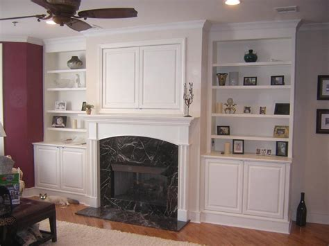 Fireplace And Bookcase Ideas, Gas Fireplaces With