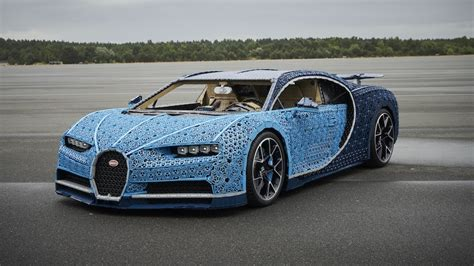 You Can Drive This Lifesize Lego Technic Bugatti Chiron