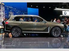 BMW X7 SUV Concept Is a Range Rover Lookalike in Frankfurt