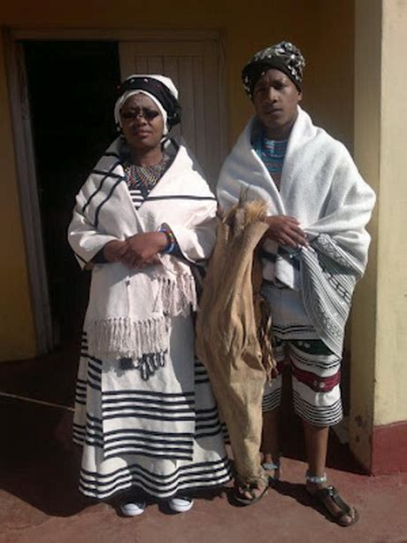 Xhosa traditional wedding dresses