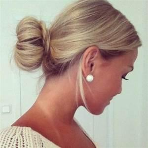28 Super Cute Bun Hairstyles For Girls Pretty Designs Us57
