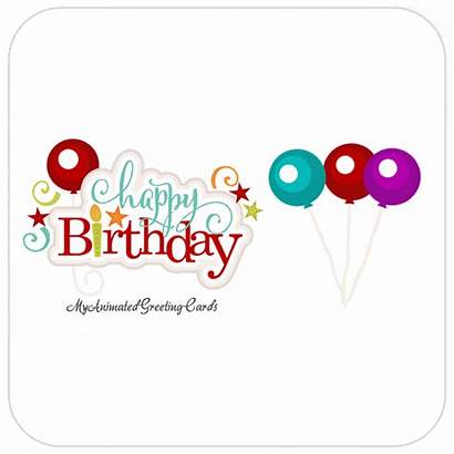 Animated Birthday Happy Cards Card Wishes Greeting