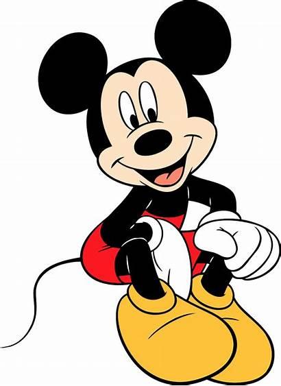 Mouse Mickey Sitting Cartoonbucket Micky Character Cartoons