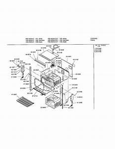 Upper Body Diagram  U0026 Parts List For Model Hbl455auc Bosch