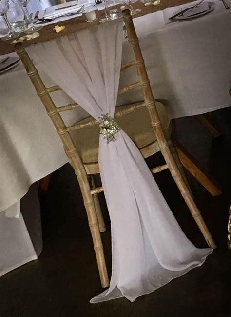white chiavari chair drape elfoccasionscouk