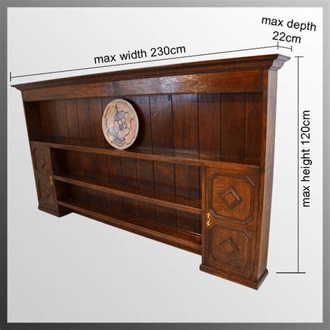 large oak plate rack dresser top antiques atlas