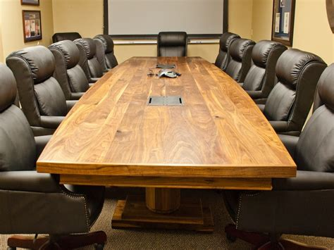 Black granite dining room table