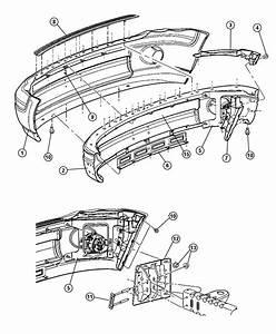 Dodge Ram 1500 Panel  Front Bumper  Sight  Bumperbumper