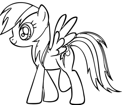 printable coloring pictures rainbow dash coloring pages best coloring pages for