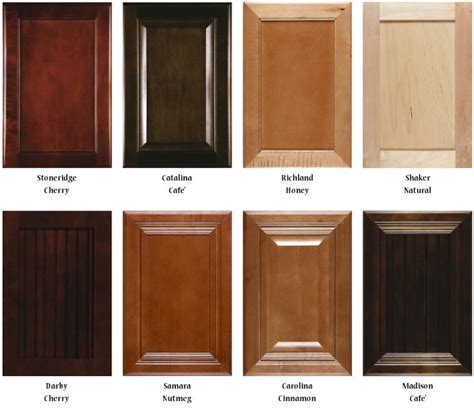 Kitchen cabinet stain color chart   Video and Photos