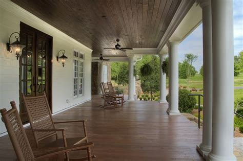 southern charm  country porch outdoor spaces