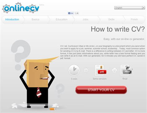 Cv Generator by 10 Free Tools To Create Professional Resumes Hongkiat