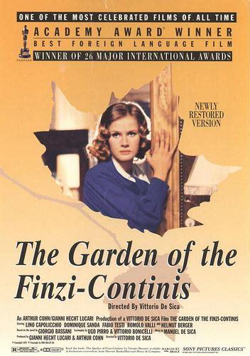 Der Garten Der Finzi Contini by Der Garten Der Finzi Contini Bild 1 2 Moviepilot De