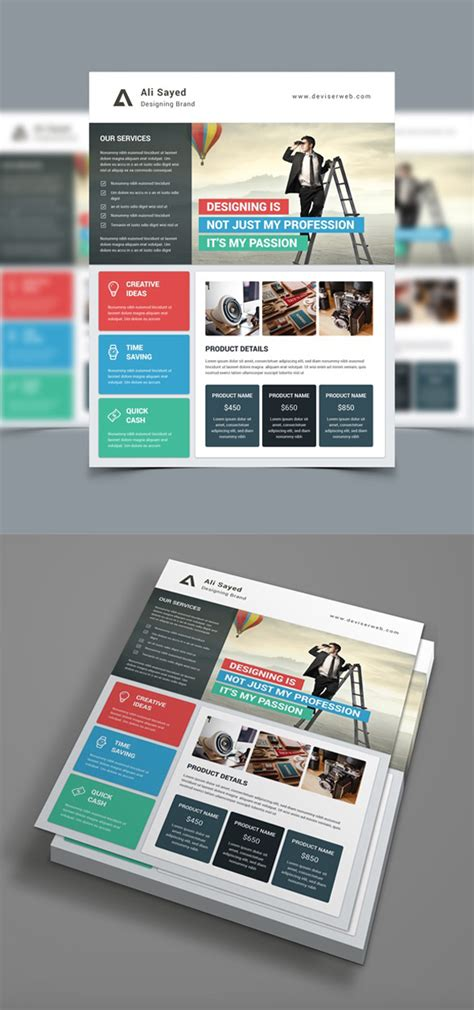 professional corporate flyer templates design